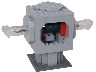 assembled LEGO ytterbium ion trap