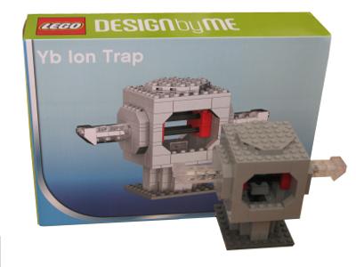 LEGO ytterbium ion trap and custom box